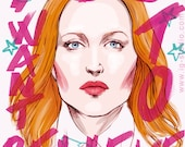 Dana Scully, you want to believe (signed prints)  © Iván García