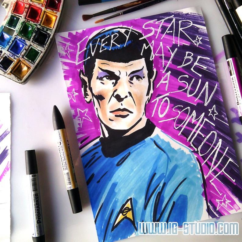 Carl Sagan reach the Stars   Leonard Nimoy as Mr Spock  image 0