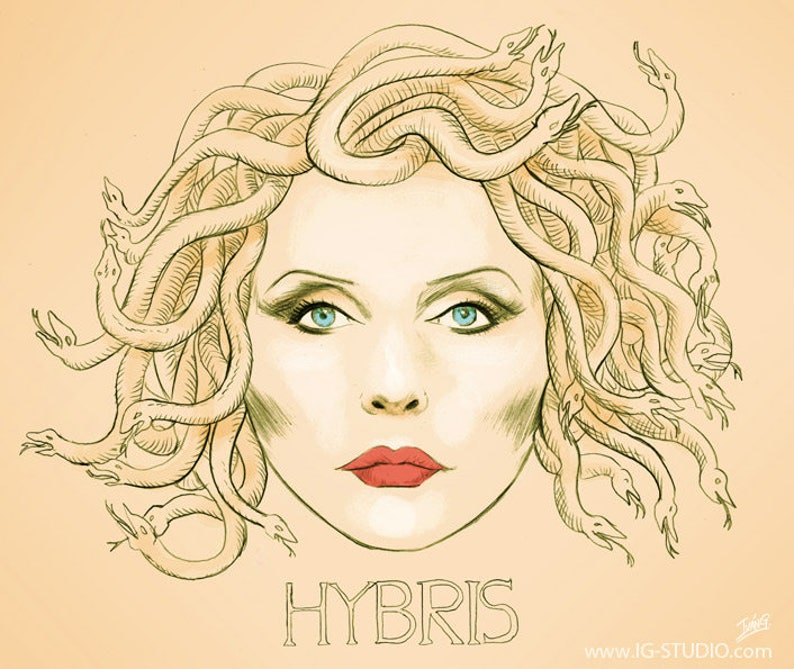 Debbie harry Hybris signed prints © Iván García. image 0