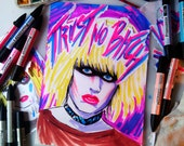 Trust no bitch N10 - Replicant Pris © Iván García  (Limited edition prints, signed and numbered)
