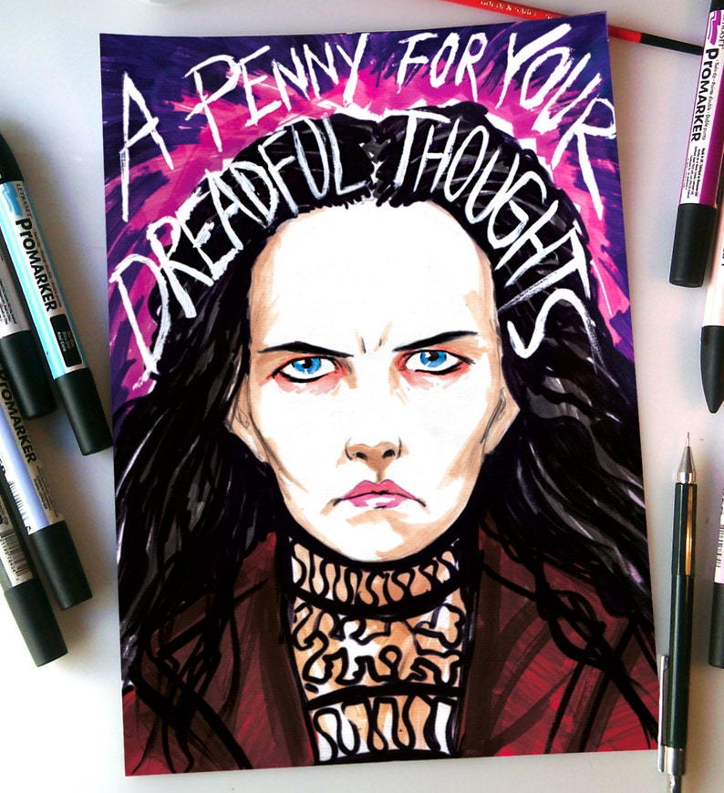 Vanessa Ives  A Penny for your Dreadful Thoughts © Iván image 0