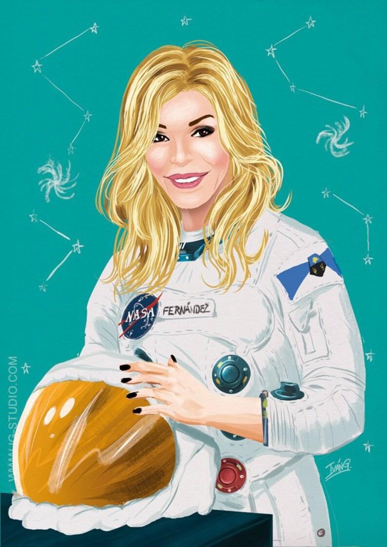 Bibiana Fernández en el espacio signed prints © Iván García. image 0