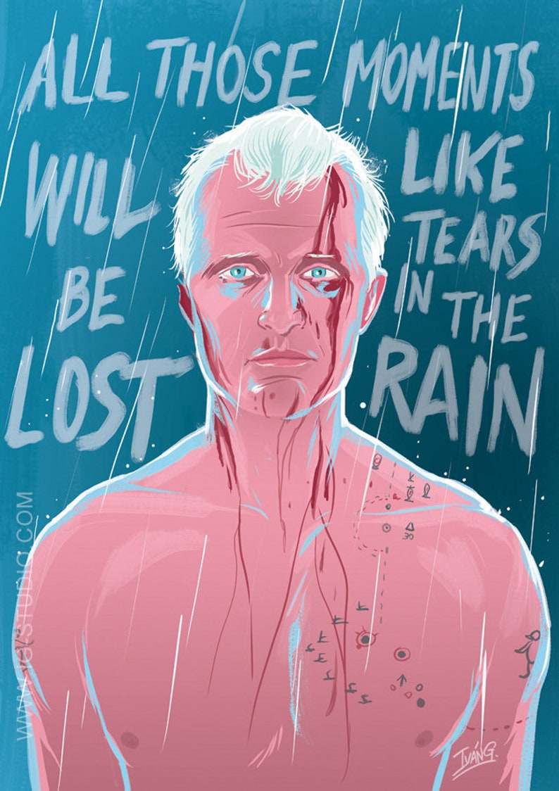 Rutger Hauer as Roy Batty from Blade runner signed prints © image 0