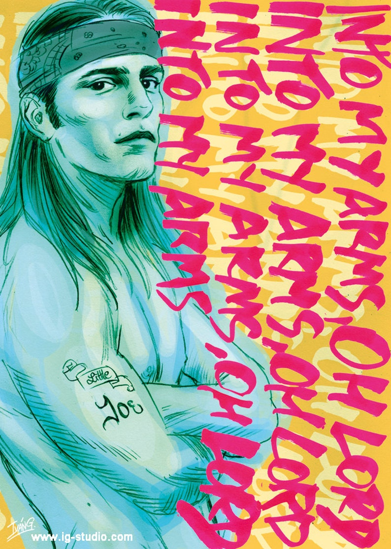 Joe Dallesandro ft Nick Cave and the Bad Seeds signed prints image 0