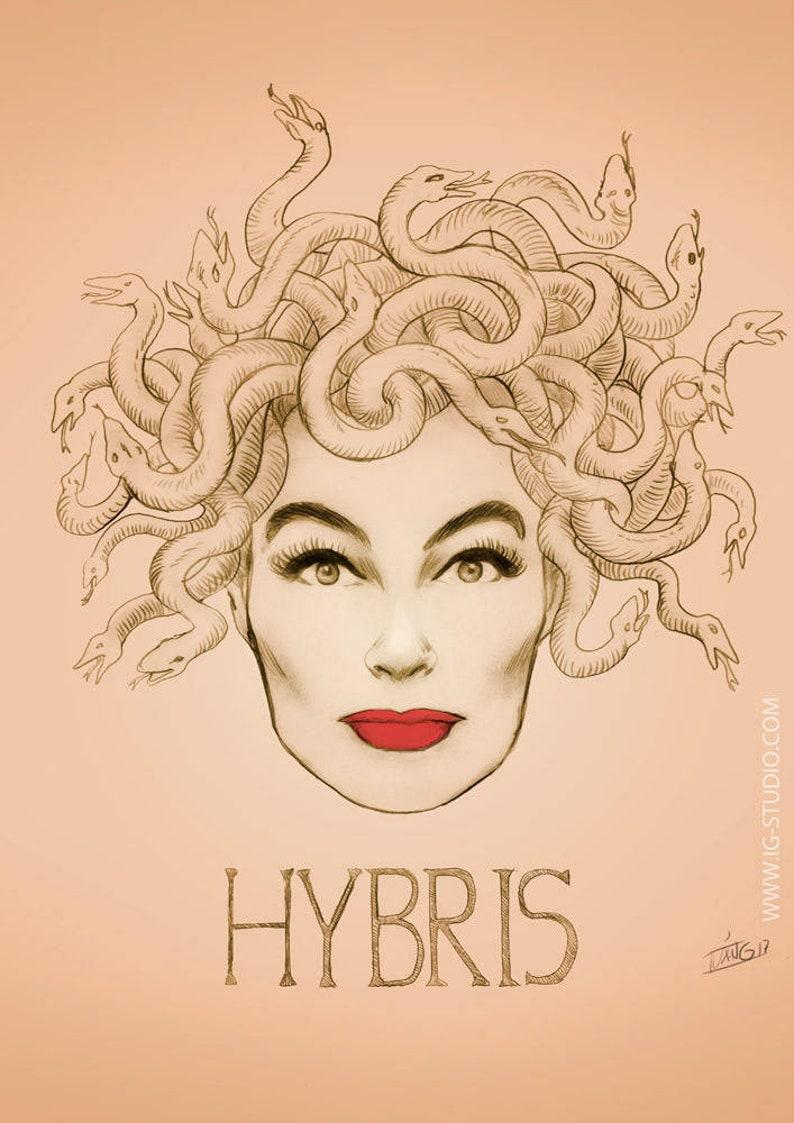 Hybris Joan Crawford signed prints © Iván García image 0