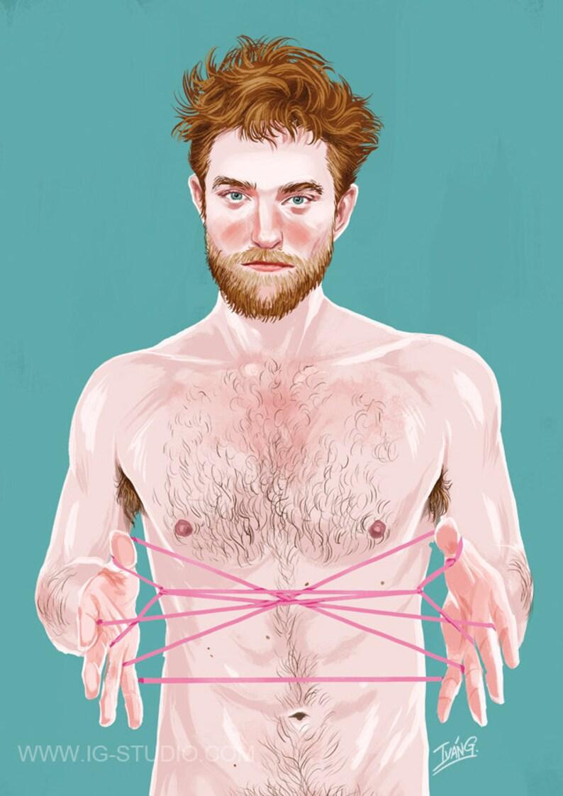 Robert  Pattinson signed prints © Iván García. image 0