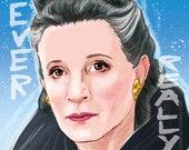 Princess Leia - No one s ever really gone (singned prints) © Iván García