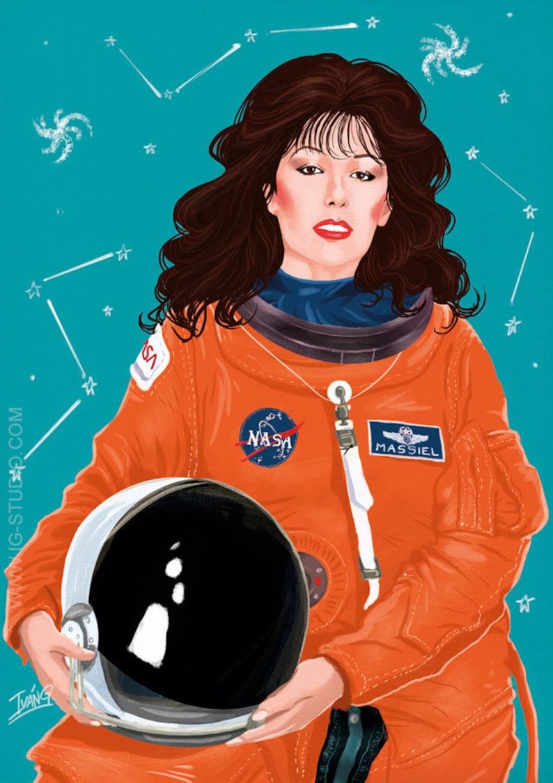 Massiel en el espacio signed prints © Iván García. image 0