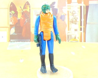 Star Wars Walrus Man Action Figure With FREE Bonus Weapon
