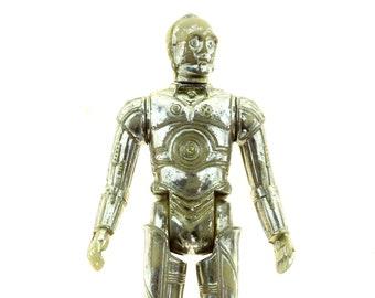 C-3PO Star Wars Vintage Action Figure Damaged