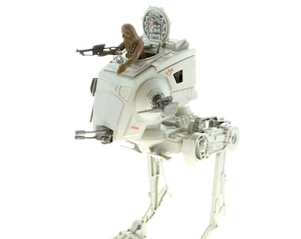 ATST Walker With Chewbacca Vintage Star Wars The Return Of The Jedi