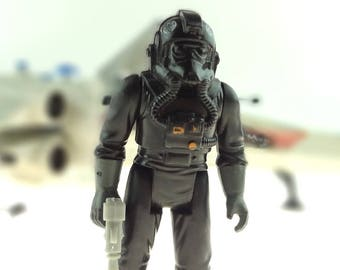 Tie Fighter Pilot Star Wars Vintage Action Figure 1982