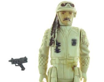 Star Wars Action Figure  Hoth Rebel Commander 1980 Damaged