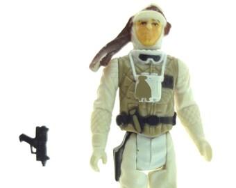 Star Wars Action Figure Luke Skywalker In Hoth Outfit Damaged