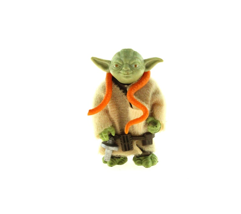 Jedi Master Yoda Star Wars Empire Strikes Back Vintage Action image 0