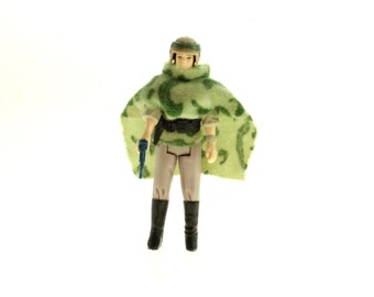 Princess Leia In Combat Poncho Vintage Star Wars Return Of The Jedi