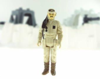 Rebel Commander Vintage Star Wars Action Figure 1980 The Empire Strikes Back