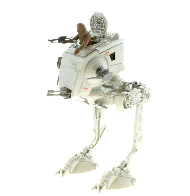 ATST Walker With Chewbacca Vintage Star Wars The Return Of The image 0