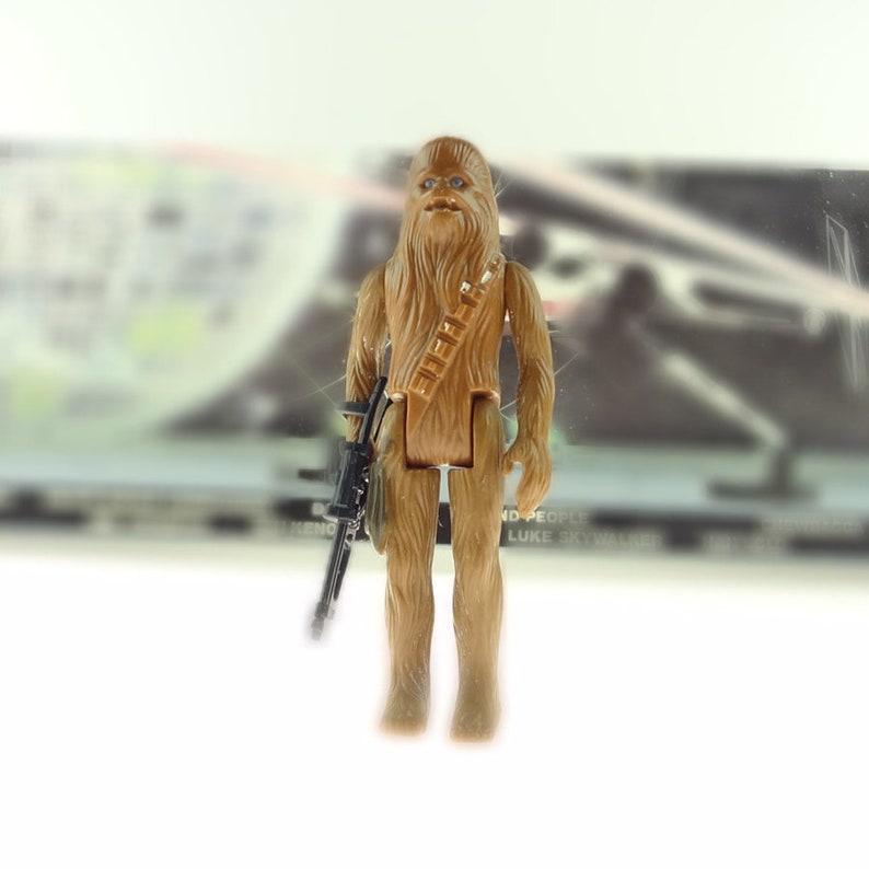 "NICE CUSTOM 2/"" Bowcaster Weapon for 1977 4/"" Chewbacca Vintage Star Wars Custom"