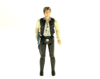Han Solo Action Figure Small Head 1977 Star Wars A New Hope