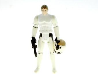 Luke Skywalker In Stormtrooper Disguise Last 17 Star Wars Action Figure