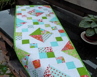 Quilted Modern Table Runner