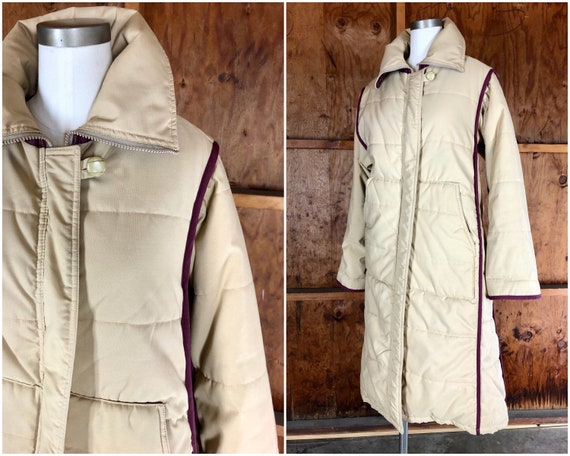 Long 80s Puffer Coat | Brigham Sportswear