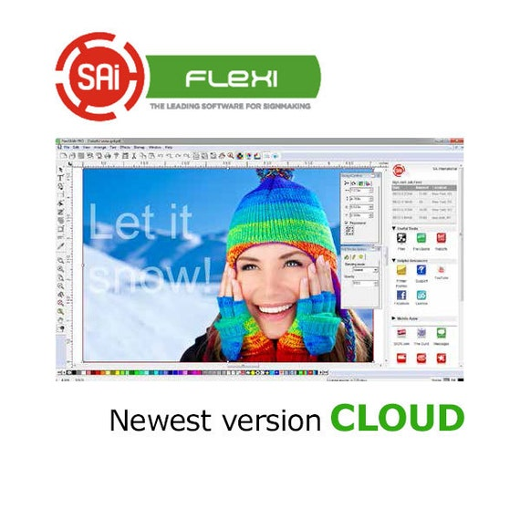 FlexiSign Cloud PRO Software - Fully Licensed Newest Version for Signmaking  with Original Software CD ***FREE Shipping***