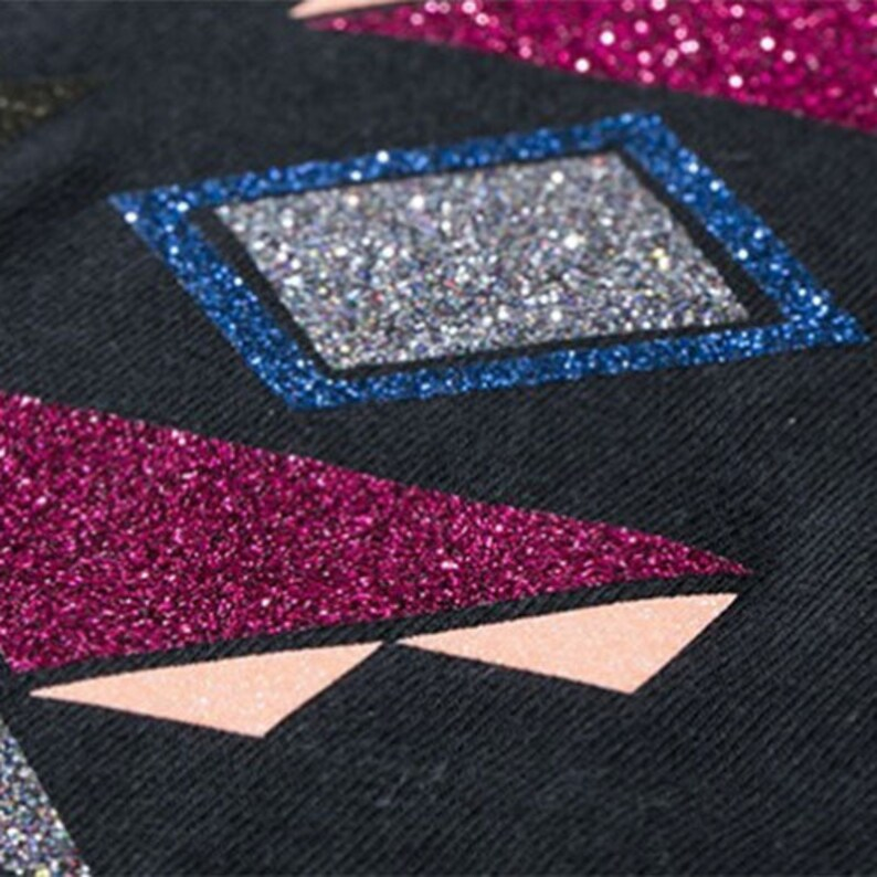 Assorted Colors Starter Bundle ***Free Shipping*** 24 Sheets CHEMICA BLING BLING Star Glitter Heat Transfer Vinyl 20 x 12
