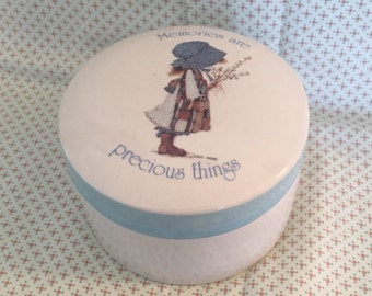 Holly Hobbie Stoneware Jewelry Container
