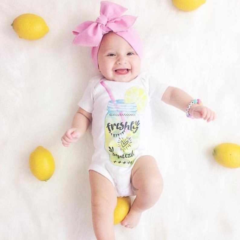 Lemonade Baby Freshly Squeezed One piece lemon baby image 0