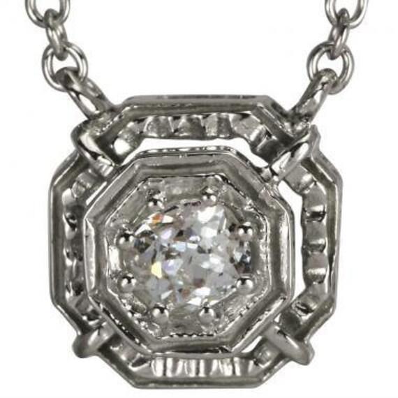 Womens Necklace Geometric Pendant Diamond Pendant Gold Diamond Necklace Silver Diamond Pendant Diamond Necklace Gift Womens Pendant
