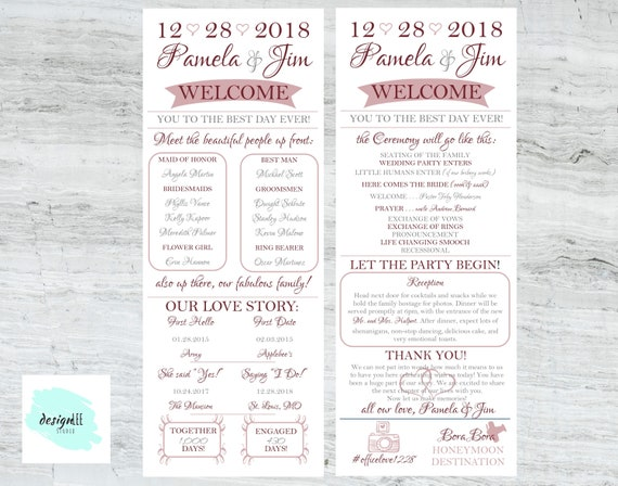 fast and affordable digital file infographic wedding etsy
