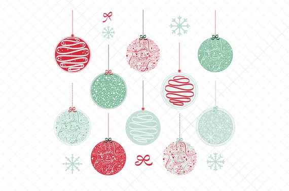 Christmas Ornaments Vector.Christmas Ornaments Vector Png Eps 4 Unique Design Styles Variations 01 Illustrations