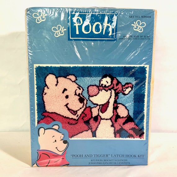Disney Pooh Tigger Latch Hook Kit 7 x 7