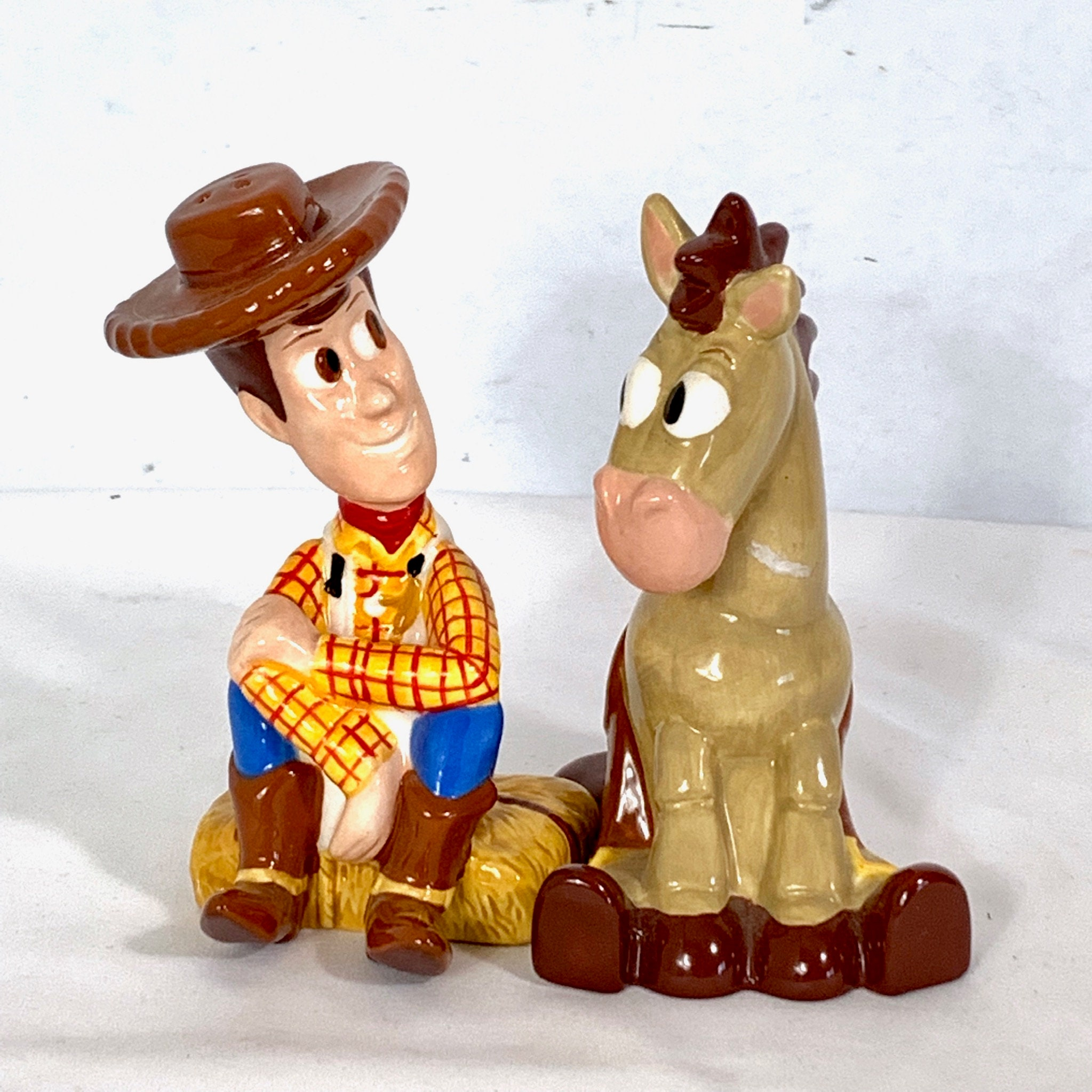 3d8cc72b1d6 Toy Story Woody and Bullseye Walt Disney Pixar Salt & Pepper Shakers