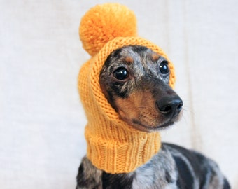 Knitted dog hat  35242bbba46f
