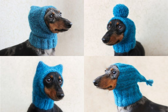 KNITTING PATTERN BUNDLE Dog Hats Mini Dachshund Hat Pet Etsy Enchanting Dog Hat Knitting Pattern