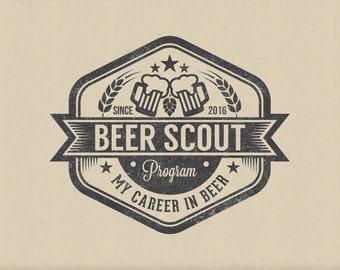 Brewery Logo Design Etsy