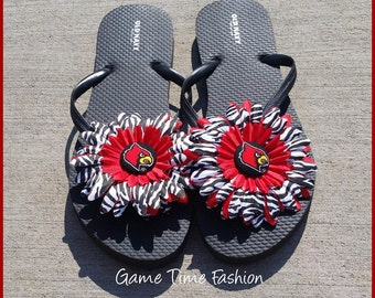 301b431f79ecf Softball Bow Flip Flops Flip Flops INCLUDED Adult and