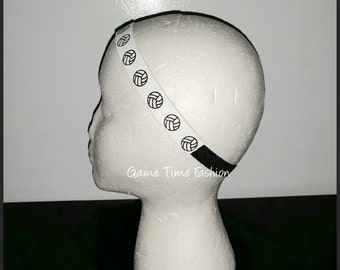 Volleyball Leather Headband