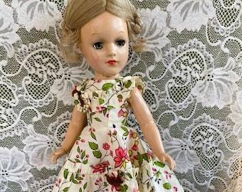 "Betsy McCall Vintage Doll Pattern ~ Ballerina Toni 14/"" Mary Hoyer Skating"