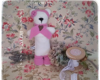 Lavender scented cashmere and wool teddies