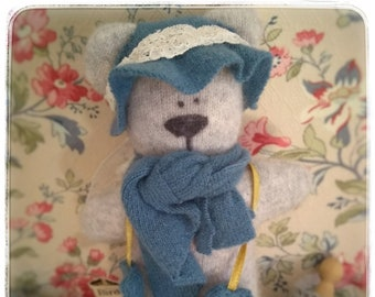Lavender filled cashmere and wool teddies