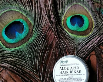Natural Acid Hair Rinse | For use with Shampoo Bars | Zero Waste Natural Conditioner