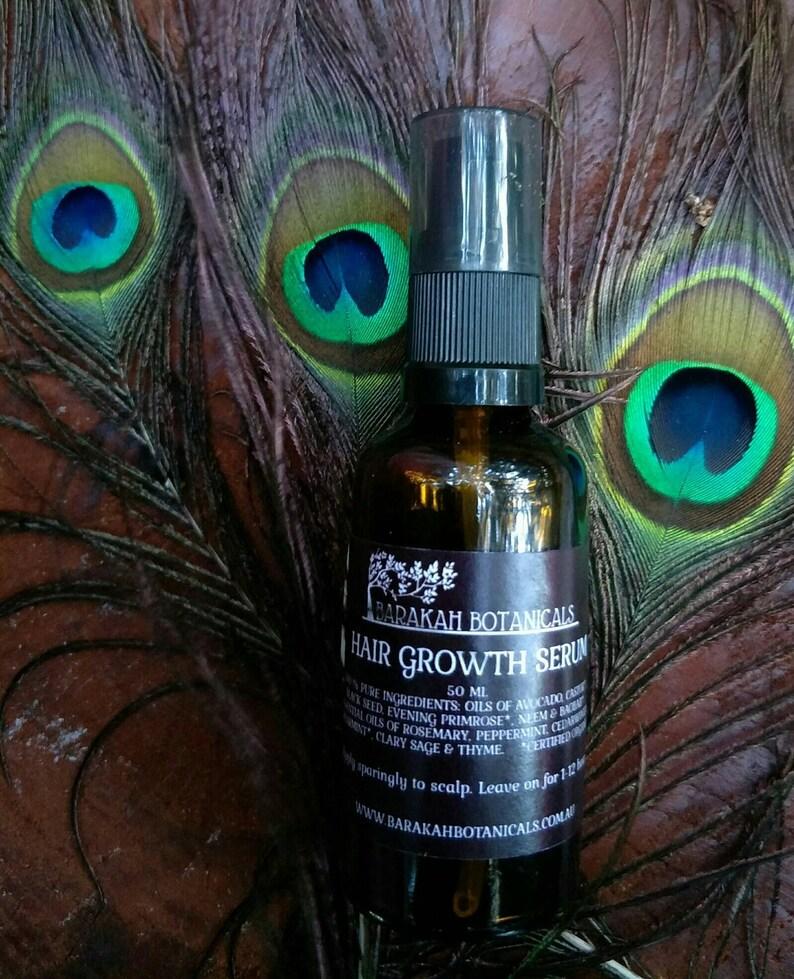 Hair Growth Oil Serum  Essential Oil Hair Serum  Scalp Oil image 0