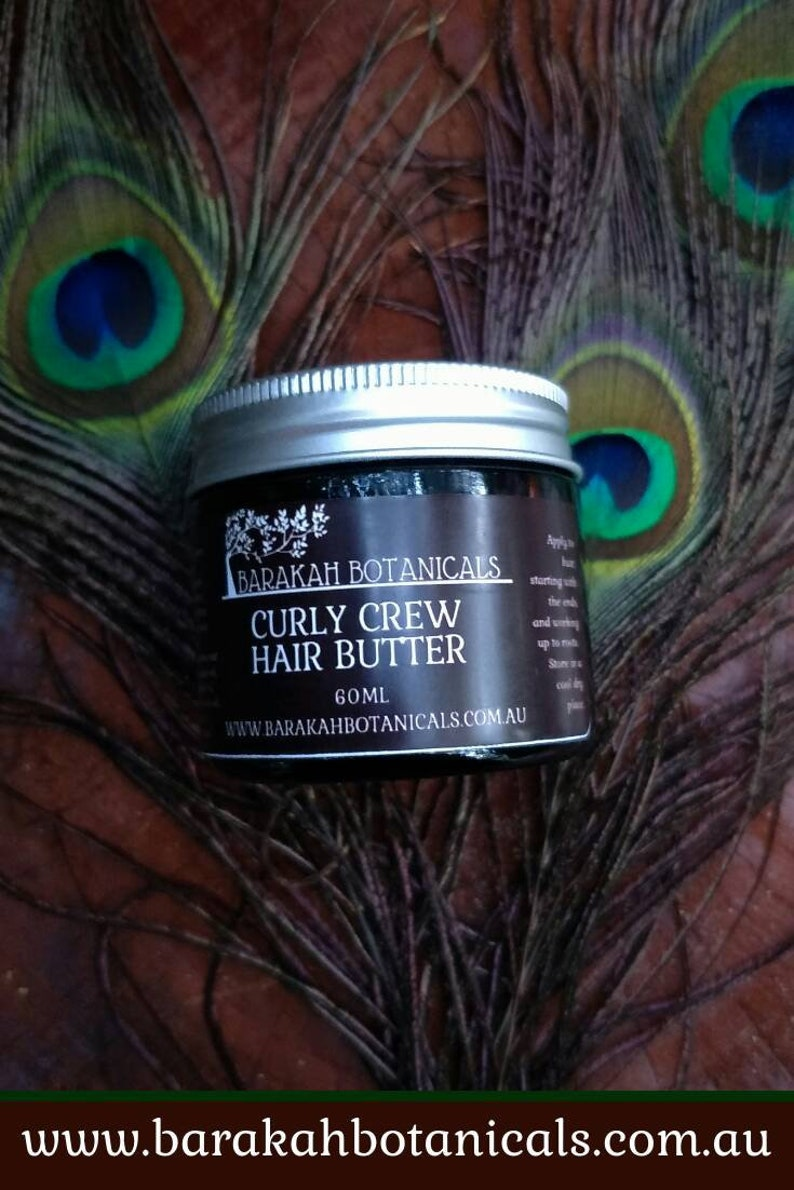 Curly Hair Butter  Natural Hair Butter  Leave In Conditioner image 0