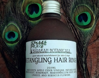 Detangling | Hair Rinse | Shampoo Bar | ACV | Burdock Root | Clarifying | Flax Seed