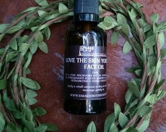 Organic Face Oil | Skin Food Face Oil Serum | Vegan Face Serum | Rosehip Oil | Frankincense Oil