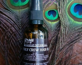 Natural Hair Oil | Leave In Conditioner | Curly Crew Hair Serum | Deep Conditioner